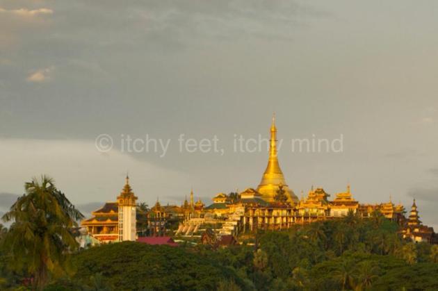 Moulmein pagodas