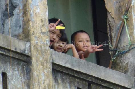Yangon kids
